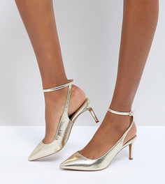 Туфли на каблуке ASOS SABRINA - Золотой