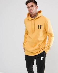 Худи желтого цвета 11 Degrees - Желтый