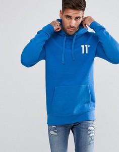 Синий худи 11 Degrees - Синий