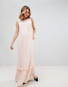 b3dfe950204e580 Длинные платья с рюшами – купить длинное платье в интернет-магазине ...