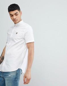 Белая рубашка с короткими рукавами Lyle & Scott - Белый