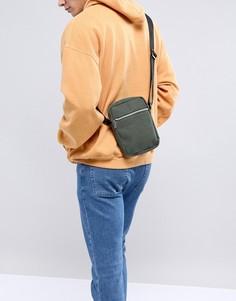 Черная парусиновая сумка Mi-Pac - Зеленый