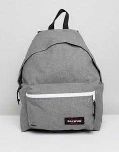 Уплотненный рюкзак объемом 22 л Eastpak Padded PakR - Серый