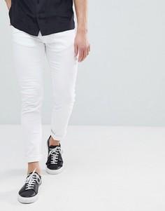 Белые эластичные джинсы скинни HUGO - Белый
