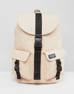 Прорезиненный рюкзак Nicce London - Светло-бежевый