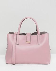 Мягкая сумка-тоут ASOS - Розовый