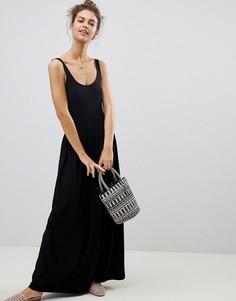 Платье макси ASOS - Черный