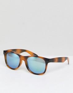 Солнцезащитные очки в черепаховой оправе Vans Spicoli 4 - Коричневый