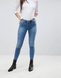 Зауженные джинсы с заниженным краем Only - Синий