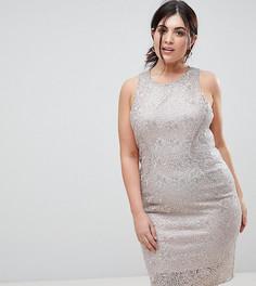 Платье с эффектом металлик Coast Plus - Золотой