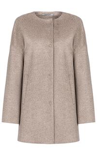 Короткое шерстяное пальто Pompa