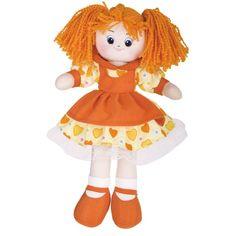 Gulliver Кукла Апельсинка в платье с сердечками, 40см