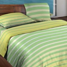 Постельное белье Wenge Motion Stripe Lime КБВм-21 15184 вид 6 Комплект 2 спальный Бязь