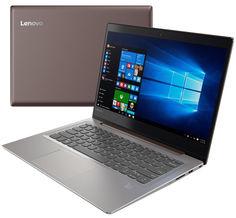 Ноутбук Lenovo IdeaPad 520S-14IKB 80X200DLRK (Intel Core i3-7100U 2.4 GHz/4096Mb/128Gb SSD/No ODD/Intel HD Graphics/Wi-Fi/Bluetooth/Cam/14.0/1920x1080/Windows 10 64-bit)
