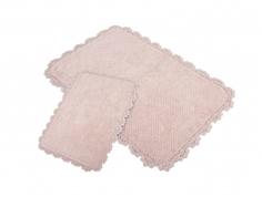 Коврик Irya Serra Pembe 2шт 60x90/40x60cm Pink