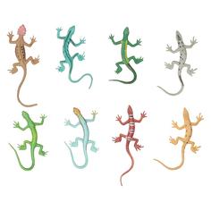 Игрушка 1Toy В мире животных: ящерицы 8 шт. Т10490