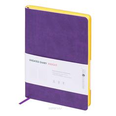 Ежедневник Greenwich Line A5 Insight Purple Yellow ENA5CR-11181