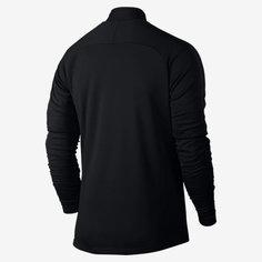 Мужская футболка для футбольного тренинга с молнией 1/4 Nike Dri-FIT Academy
