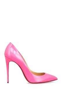 Туфли из лакированной кожи Pigalle Follies 100 Christian Louboutin