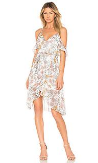 Платье с прорезями на плечах - J.O.A.