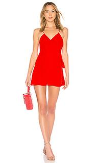 Мини платье с завязкой на талии dress 138 - LPA