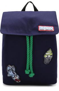 Рюкзак с нашивками Kenzo