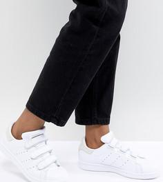 Женские бело-серые кроссовки adidas Originals Stan Smith Comfort - Белый