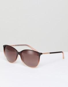 Круглые солнцезащитные очки коричневого цвета Ted Baker TB1495 147 Raven - Коричневый