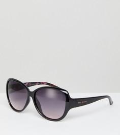 Черные большие солнцезащитные очки Ted Baker TB1394 011 Shay - Черный