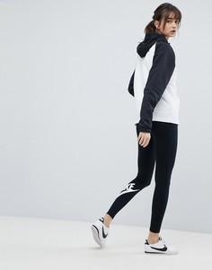Черные леггинсы Nike Leg A See - Черный