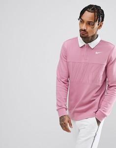 Розовый топ Nike SB Rugby 885847-678 - Розовый