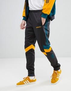 Суженные книзу черные джоггеры в винтажном стиле adidas Originals CE4853 - Серый