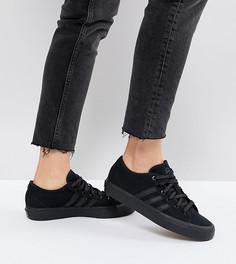 Черные кроссовки adidas Skate Boarding Matchcourt Rx - Черный