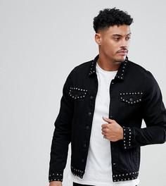 Джинсовая куртка с заклепками Just Junkies - Черный