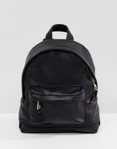 Черный рюкзак из фактурной искусственной кожи Mi-Pac - Черный