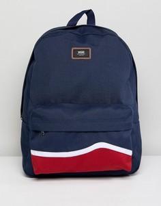 Темно-синий рюкзак Vans Old Skool II V00ONIQHV - Зеленый