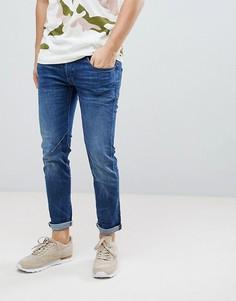 Узкие джинсы цвета индиго G-Star D-Staq - Синий