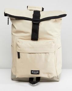 Светло-серый рюкзак Nicce London - Светло-бежевый