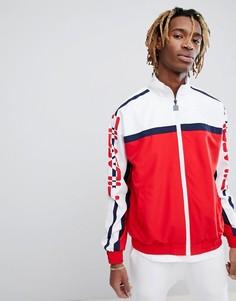 Красная спортивная куртка Fila Black - Красный