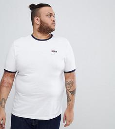 Белая футболка с маленьким логотипом Fila Vintage PLUS - Белый