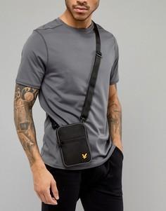 Черная сумка для авиаперелетов Lyle & Scott Fitness Anderson - Черный