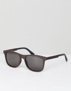 Квадратные солнцезащитные очки Boss Orange - Черный