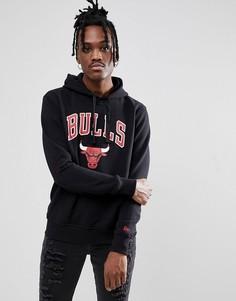 Черный худи с логотипом Chicago Bulls New Era NBA - Черный