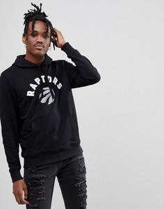 Черный худи с логотипом Toronto Raptors New Era NBA - Черный