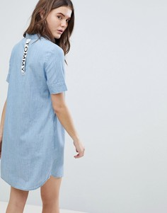 Джинсовое платье-рубашка Tommy Jeans - Синий