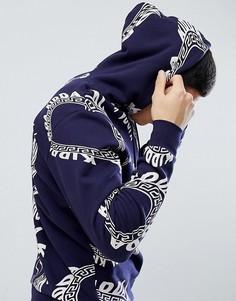 Темно-синий худи с логотипом Kidda By Christopher Shannon - Темно-синий