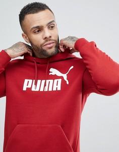 Худи красного цвета Puma ESS No.1 83825789 - Красный