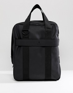 Черная сумка-тоут в стиле милитари Rains 1291 - Черный