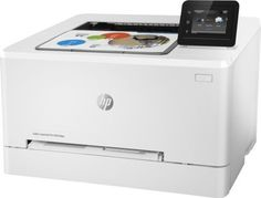 Принтер лазерный HP Color LaserJet Pro M254dw лазерный, цвет: белый [t6b60a]
