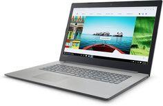 "Ноутбук LENOVO IdeaPad 320-17IKB, 17.3"", Intel Core i3 7100U 2.4ГГц, 6Гб, 1000Гб, Intel HD Graphics 620, Windows 10, 80XM00GYRK, серый"